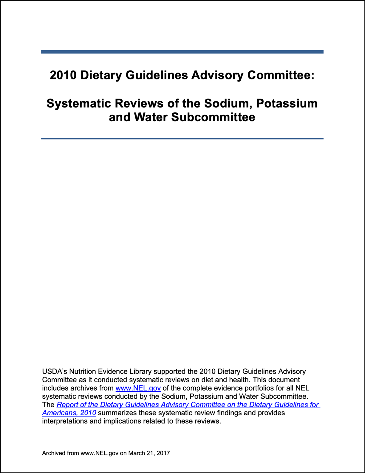 2010 Systematic Reviews of the Sodium, Potassium and Water Subcommittee.png