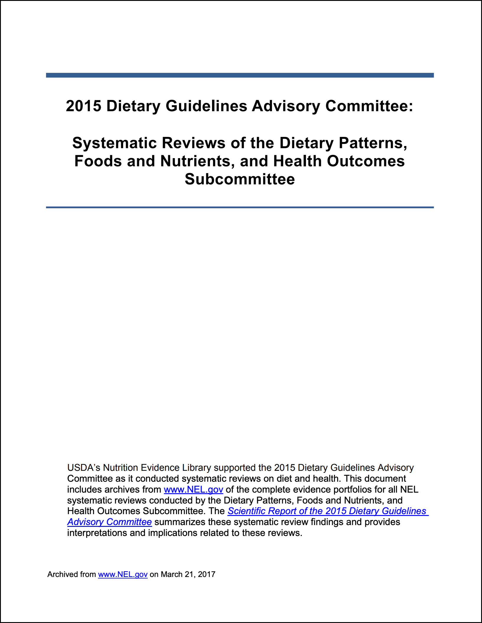 2015 Dietary Patterns, Food and Nutrients, and Health Outcomes Subcommittee.png